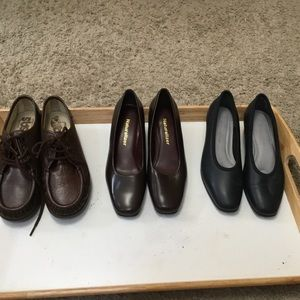Naturalizer Heels & SAS Walking Shoes  All Size 4